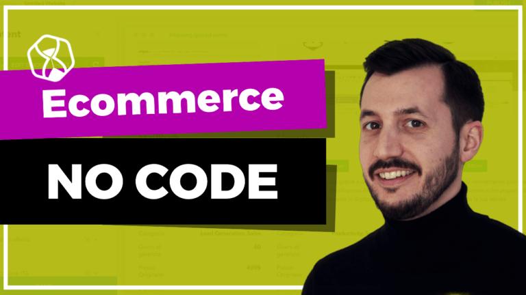 Creare un ecommerce no code in pochi minuti