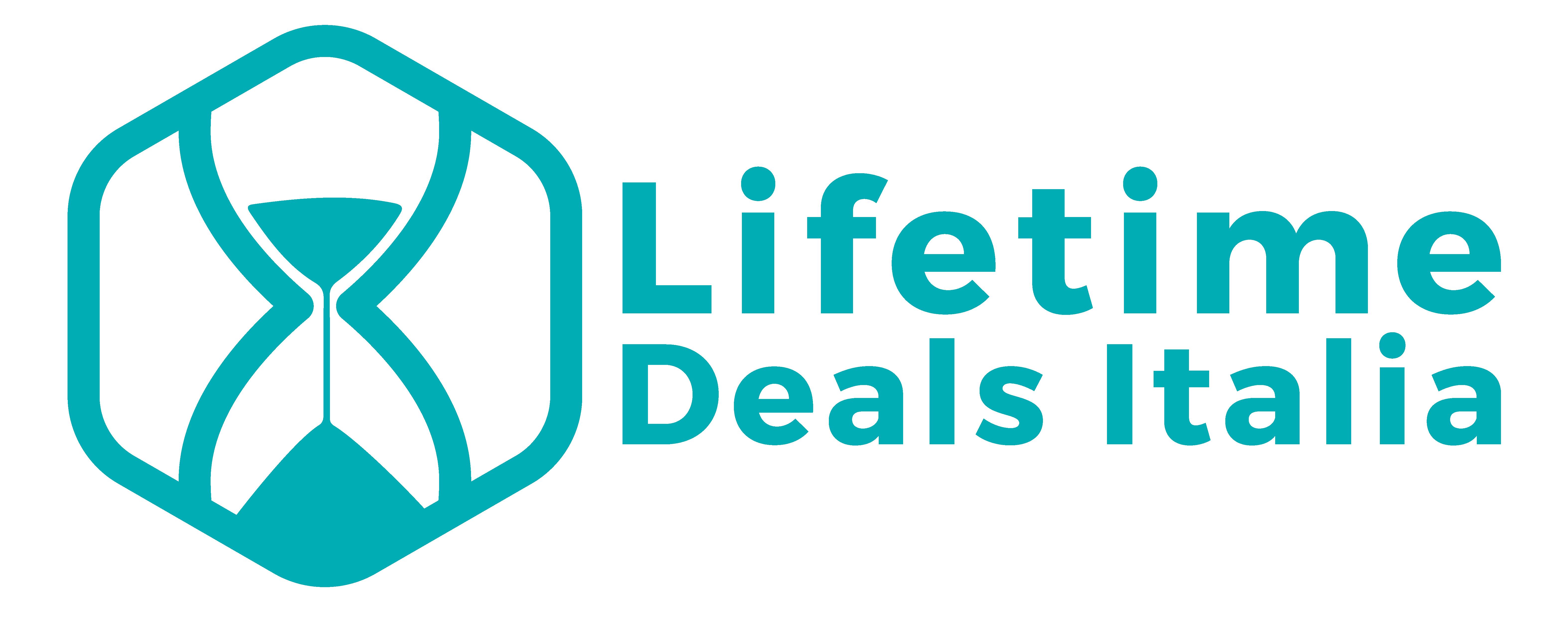 Lifetime Deals Italia - Logo e Testo - Header