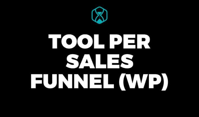Tool per creare Sales Funnel con WordPress