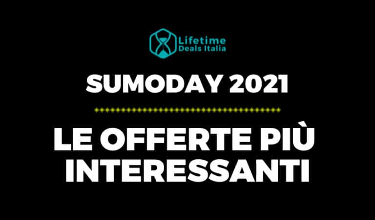 Sumoday 2021 - Offerte Lifetime